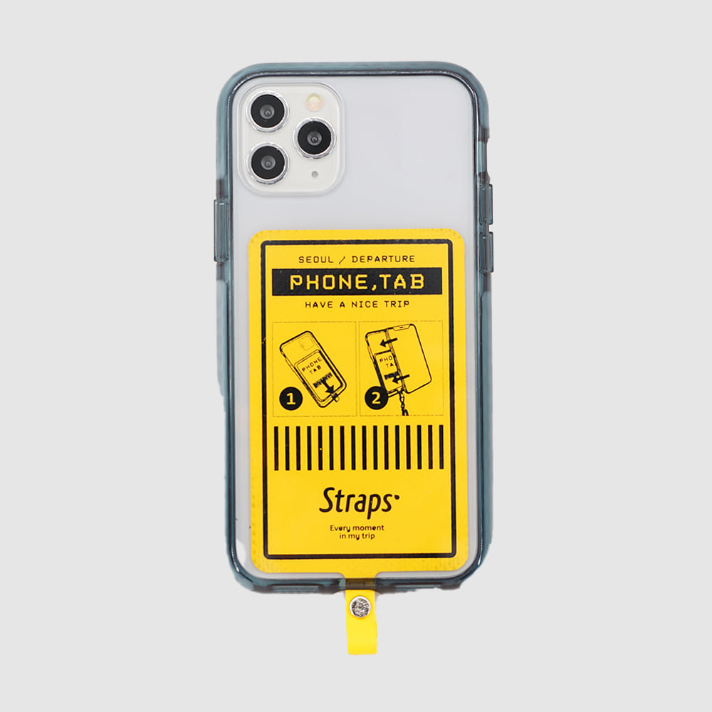 Phone Tab Yellow iPhone 11 Series Case