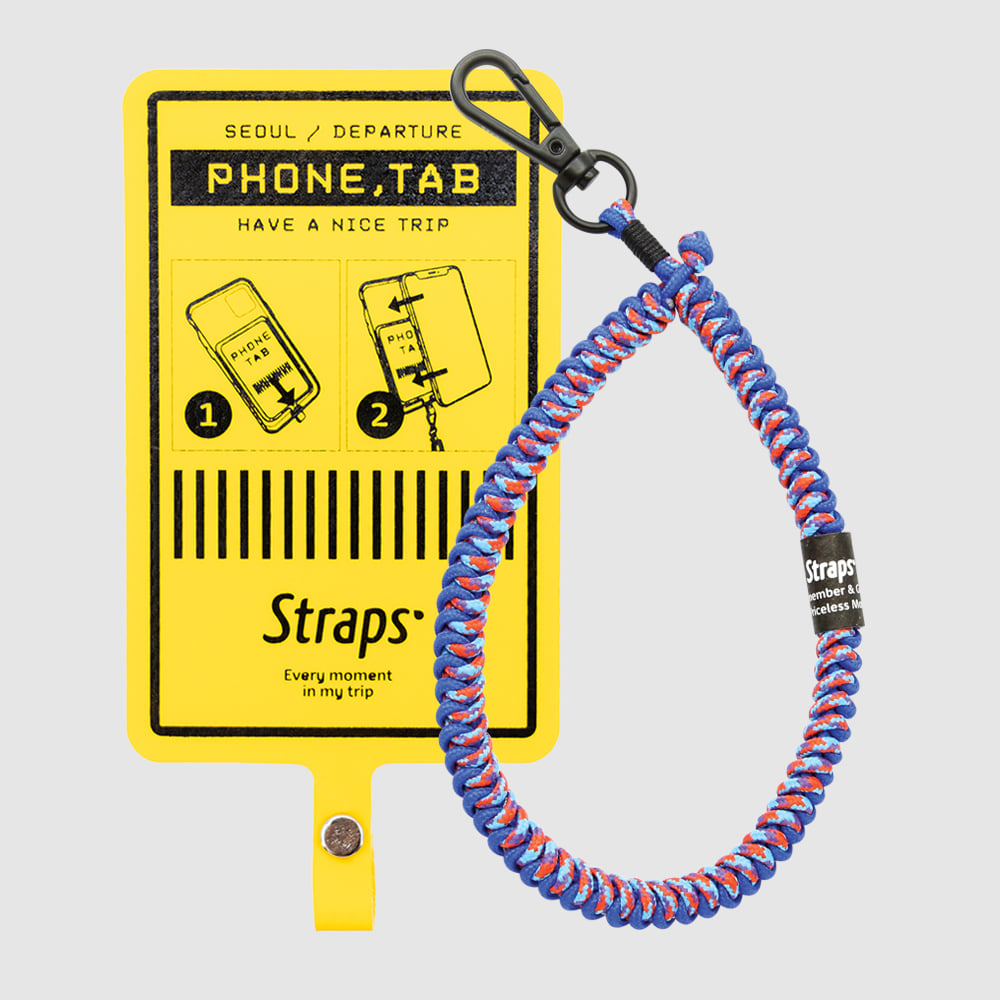 Phone Tab Yellow Slim Strap